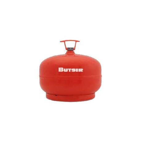 BOTELLA GAS BUTANO ROSCA BUTSIR (NARANJA ) 2 kg