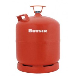 BOTELLA GAS BUTANO ROSCA BUTSIR (NARANJA) 3 kg